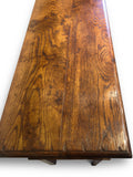 Hall Table, Oak Semi Rustic Finish.