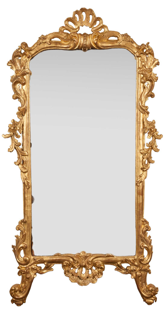 x SOLD : 19th Century Italian Giltwood Mirror.