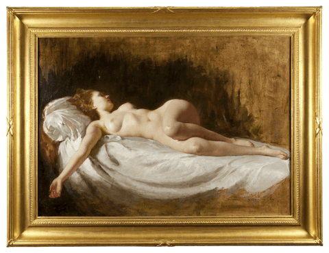 x SOLD : Nude study by Maria Szantho