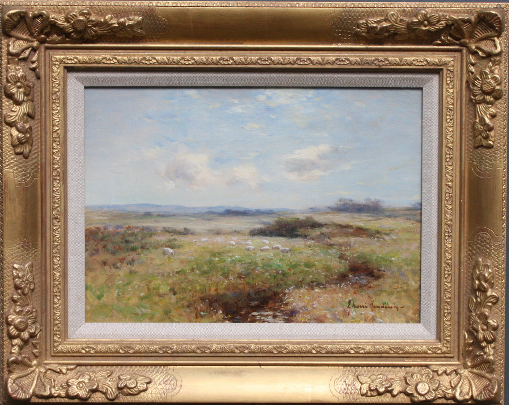 Oil on Canvas; Scottish Landscape by Joseph Morris Henderson (ii)