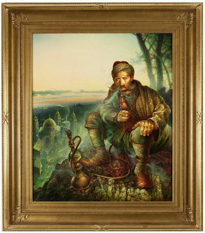 ON SALE - Oil on Canvas 'Cossack' by Stanislav Plutenko (Russian, b.1961). SALE PRICE: