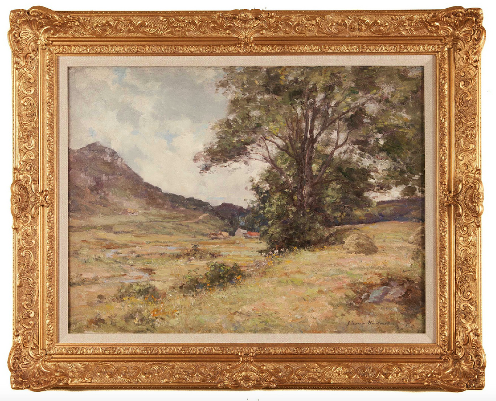 Oil on Canvas; Scottish Landscape by Joseph Morris Henderson (i)