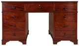 Super Quality Regency Mahogany Partners Desk