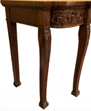 x SOLD: A Handsome Chippendale Revival Mahogany Breakfront Serving Table