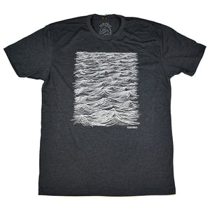 """20 Knots"" Short Sleeve T-Shirt in Charcoal"