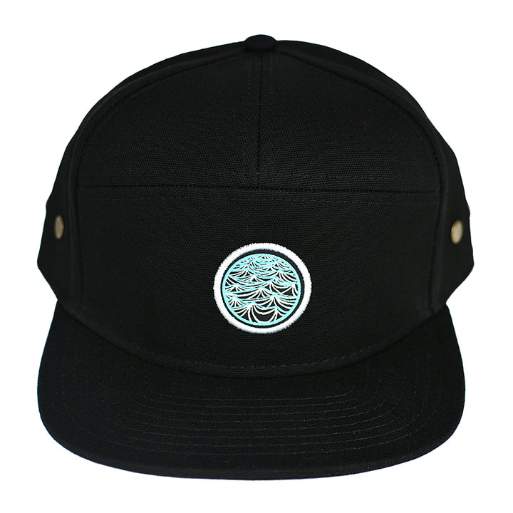 black adjustable hat