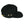 "Load image into Gallery viewer, ""Birch Bay"" 7 Panel Hat in Black"