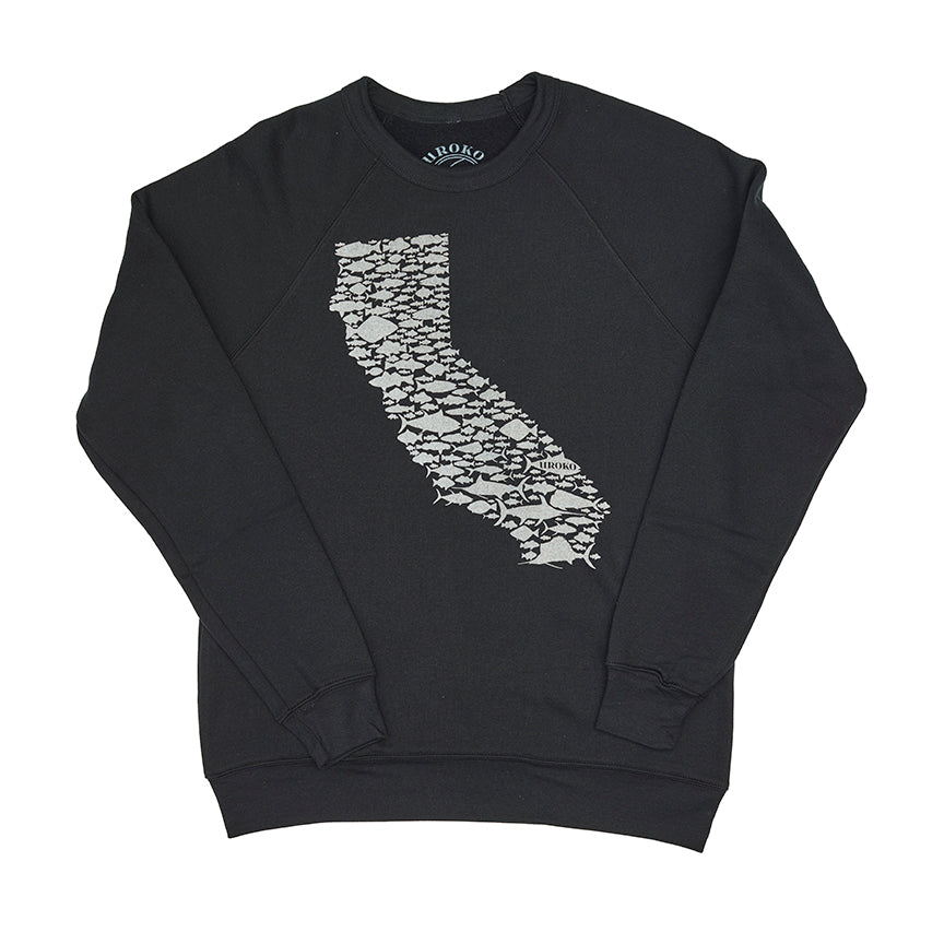 black california sweatshirt
