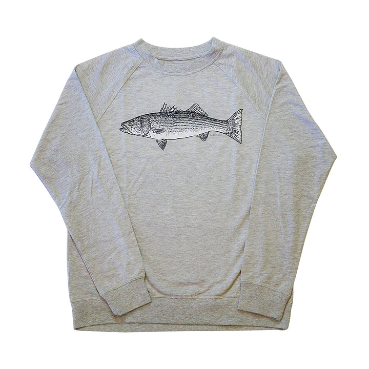 Men's grey crewneck