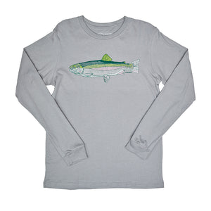 Men's grey long sleeve