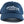 "Load image into Gallery viewer, ""Salmon"" Dad Hat in Navy with Grey Embroidery"
