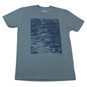 """Seaside"" T-Shirt in Indigo"