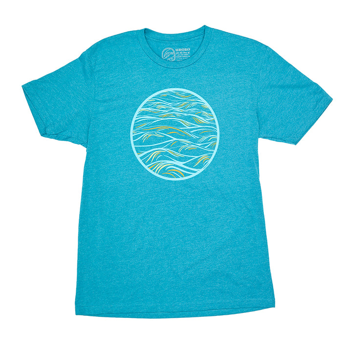 Men's teal t-shirt