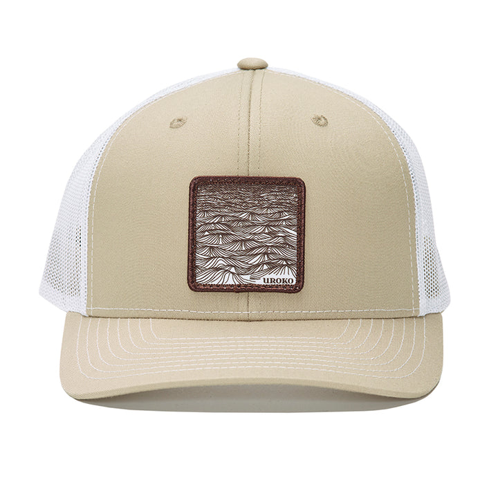 Tan trucker hat