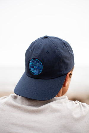Navy dad hat