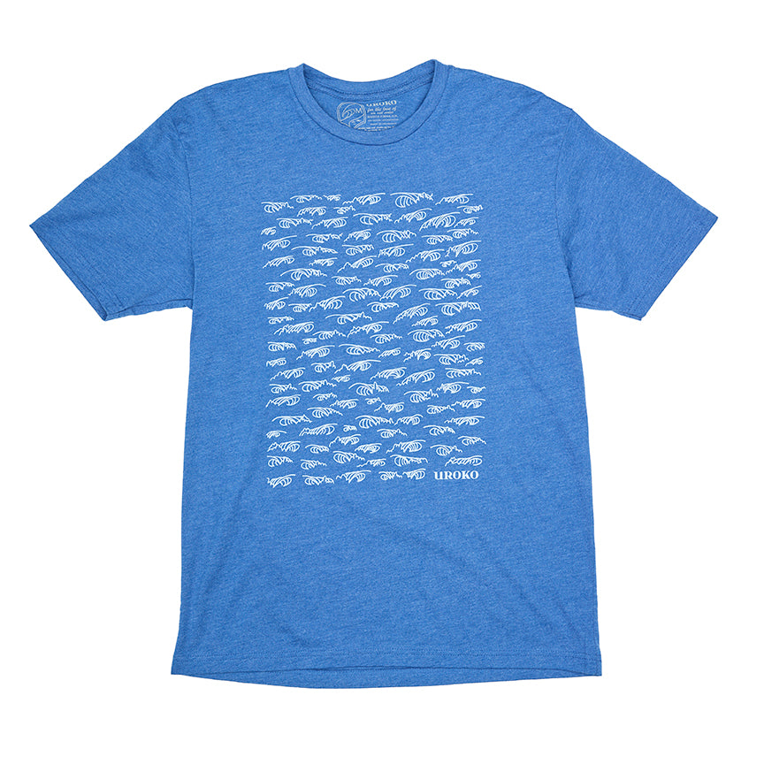 Men's blue t-shirt