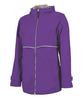 New Englander Purple Rain Jacket