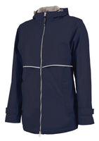 New Englander Navy Rain Jacket