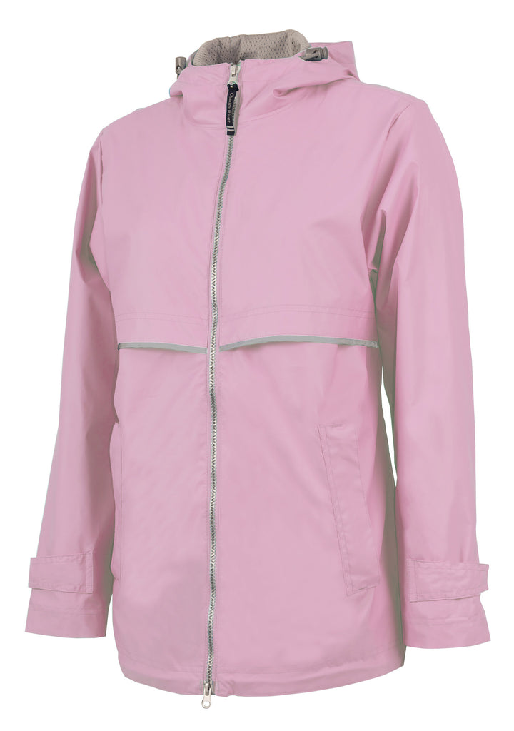 New Englander Light Pink Rain Jacket