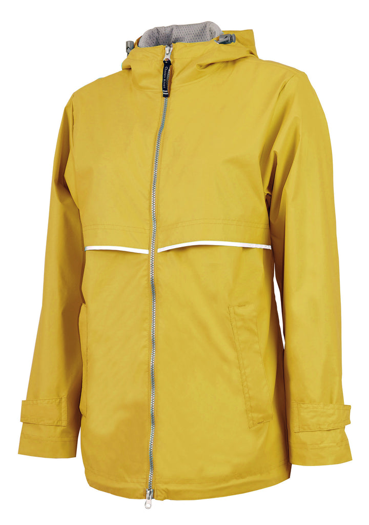 New Englander Yellow Rain Jacket