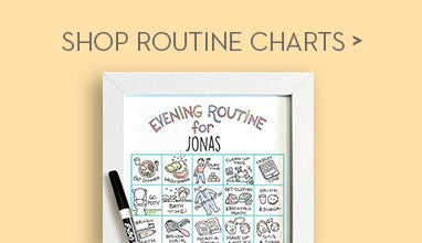 Preschool and Pre-K Routine Charts, Reward Charts for Young Children