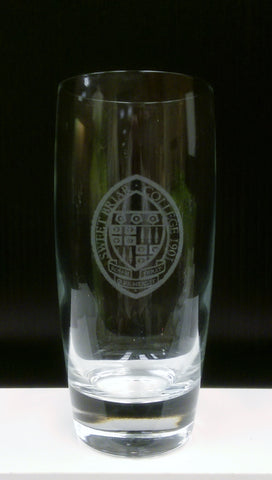 Glass Highball Etched