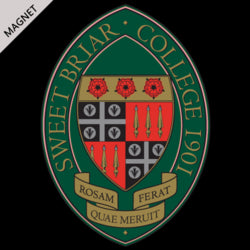 Car Magnet with Sweet Briar Seal