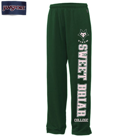 Sweat Pant Dark Green/Pink Fusion SBC