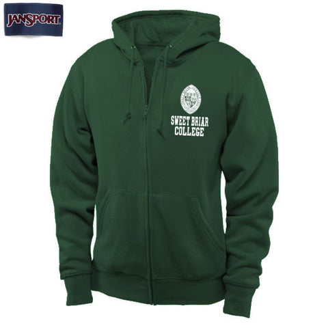 Hood Full Zip SBC Seal Dark Green