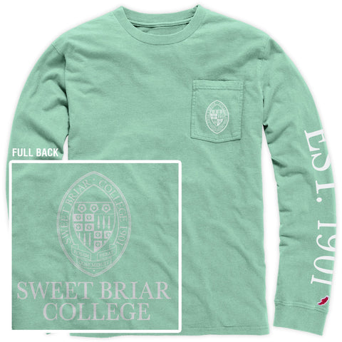 T-Shirt LS Pocket Tee Mint
