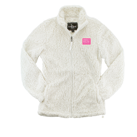 Sherpa Jacket Full Zip Natural