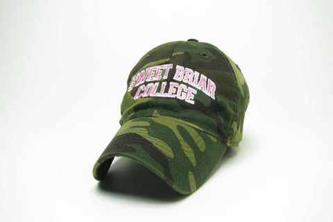 Cap SBC Camo with Pink Pink Lettering
