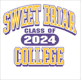 Short Sleeve Tee Shirt Class of 2024