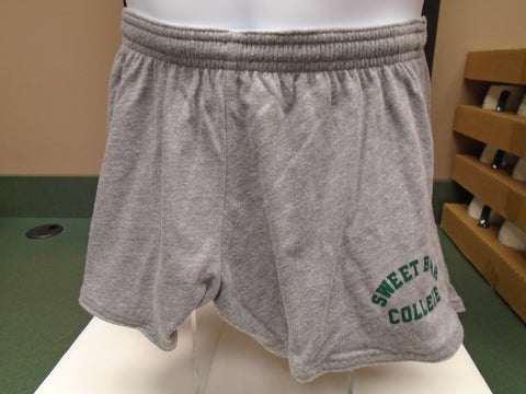 Shorts Intramural Fall Heather W/Green Sweet Briar College