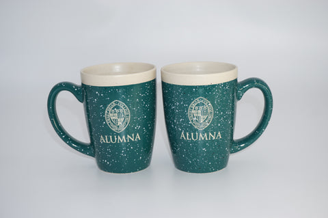 Mug Alumna Forest Green With SBC Seal