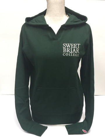 Hoodie Green Chelsea with White SBC Logo