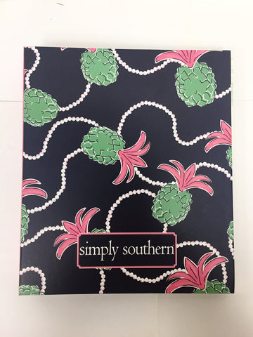 Simply Southern Notebook Pine Pearls Large