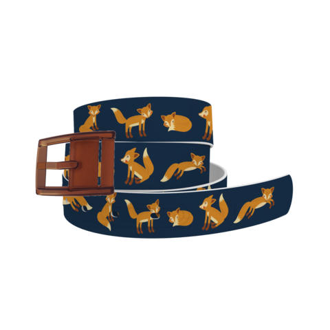 Belt Equestrian Playing Foxes