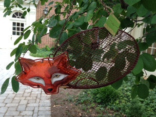 Fox Mesh Bird Feeder