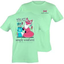 T Shirt Youth Simply Southern Fox Julep