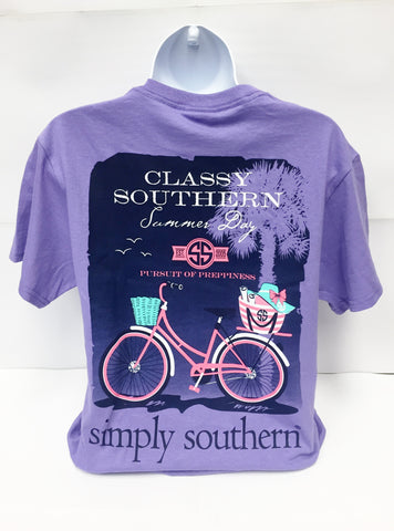 T Shirt Simply Southern Summer Day
