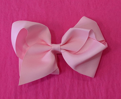 Bow Pink Large