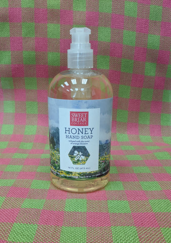 Hand Soap With Sweet Briar Honey - Orange Blossom Scented