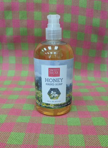 Hand Soap With Sweet Briar Honey