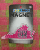 Magnet For Refrigerator Acrylic Polka Dots