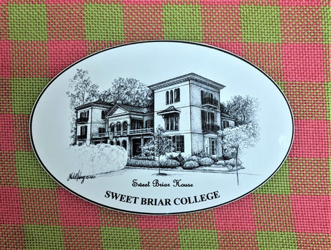 Decal Sweet Briar House