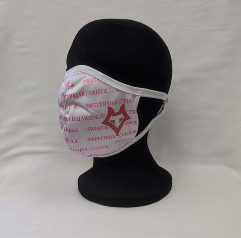 Mask White With Pink Vixen