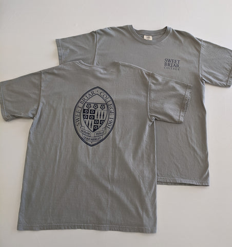 Short Sleeve Tee Shirt SBC Stacked Logo W/Seal