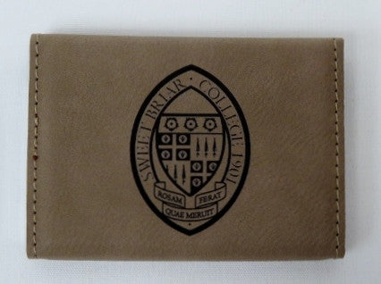 Business Card Holder Tan