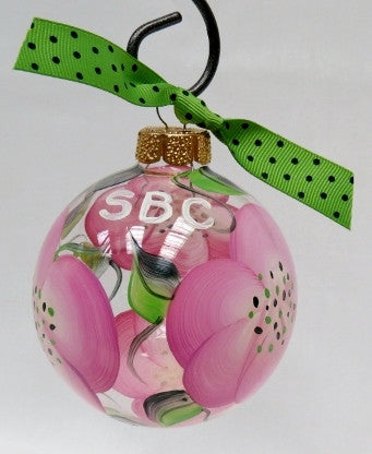 Christmas Ornament SBC Rose